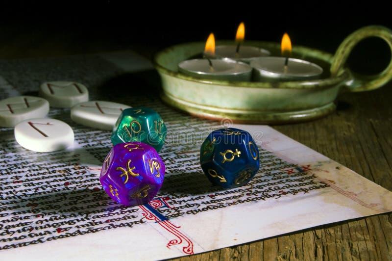 Divination ésotérique photos libres de droits