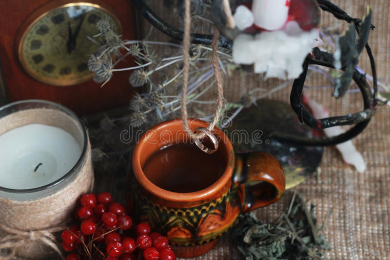 Divination и колдовство стоковые фотографии rf