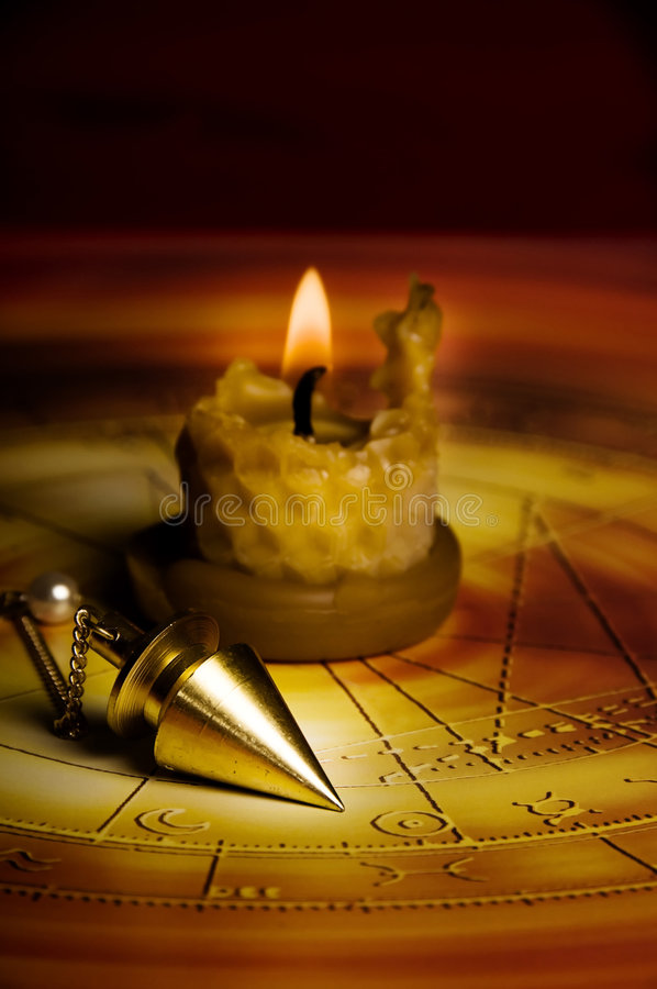 Divination esotérico imagem de stock