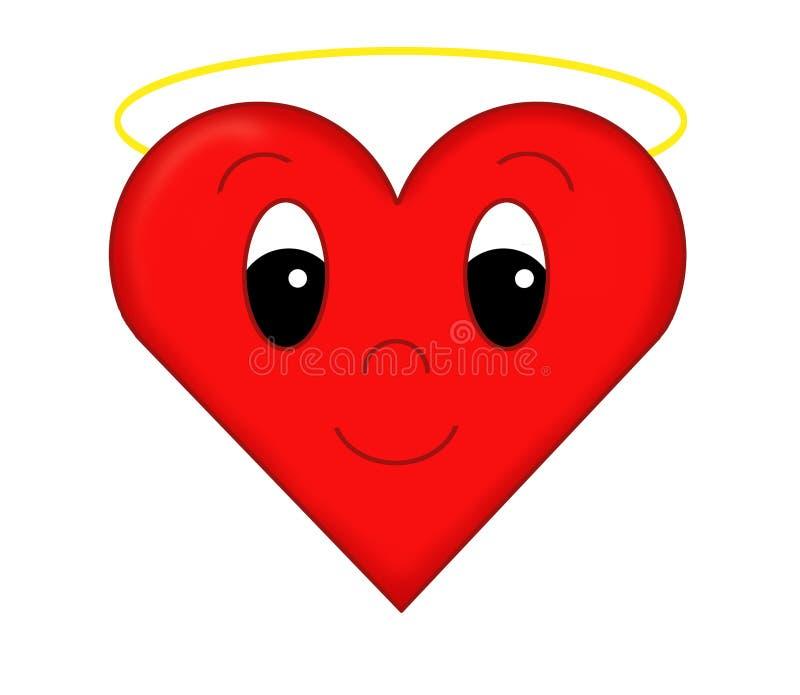 Download Divine heart stock illustration. Illustration of friendship - 10229539