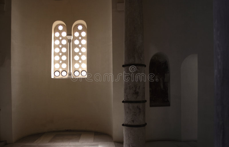Divine A Luz Imagem de Stock