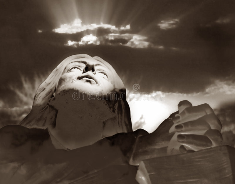 Download Divine reflection stock illustration. Image of religion - 2510603