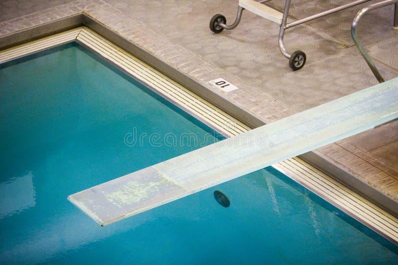 Diving Board royalty free stock photos