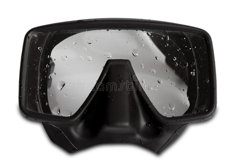 Download Diving Mask With Water Drops Stock Photo - Image: 29165302