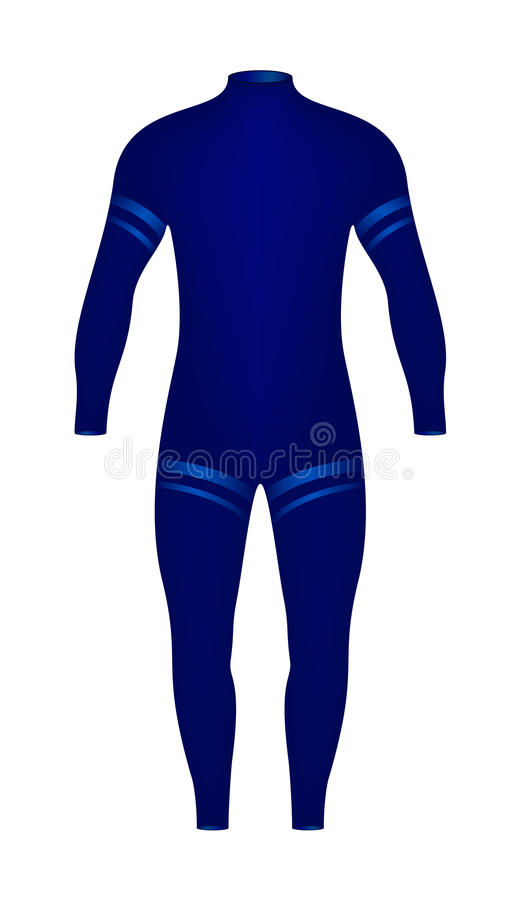Download Diving suit stock vector. Image of protect, ocean, fashion - 23893795