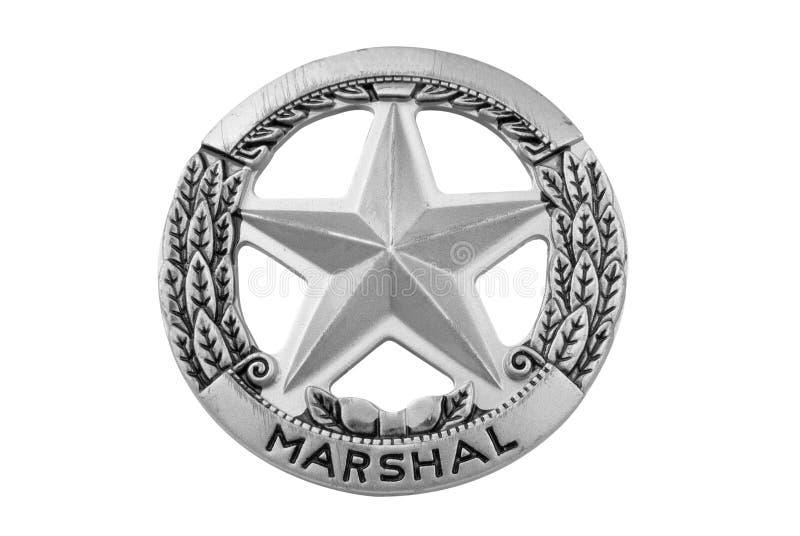 Divisa de la estrella del mariscal fotografía de archivo libre de regalías