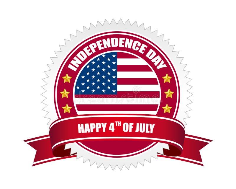 Divisa del Día de la Independencia libre illustration