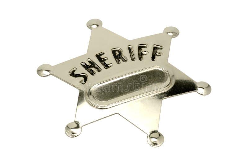 Divisa del sheriff imagenes de archivo