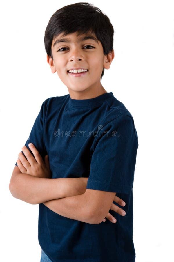 Divisez le garçon d'ans images stock