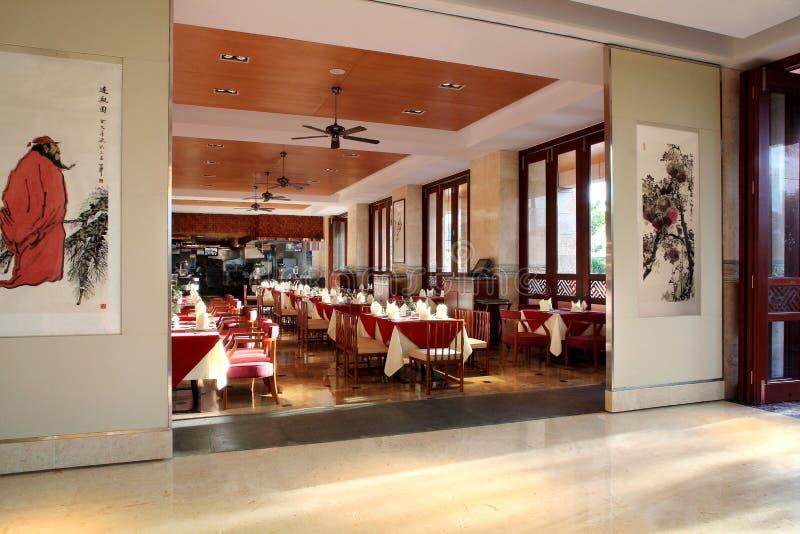 Division de mer de Sanya de l'hôtel de quatre saisons image libre de droits