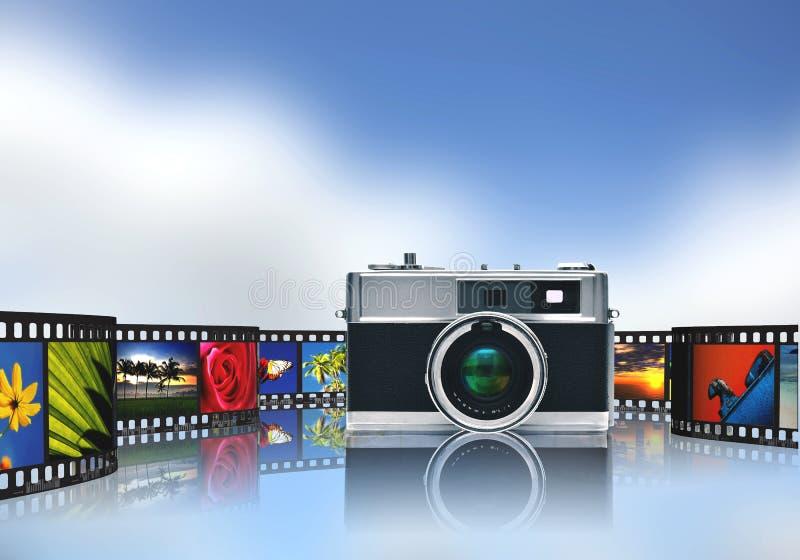 Divisione di immagine e di fotografia royalty illustrazione gratis