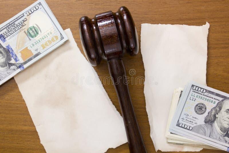 Divisione legale della proprietà fotografie stock