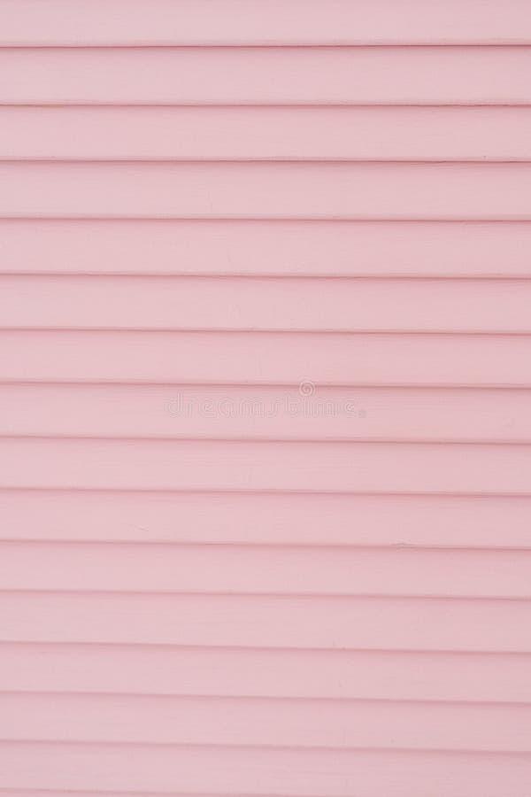 Divisor de sala de madeira do painel da tela da separação do rosa imagem de stock