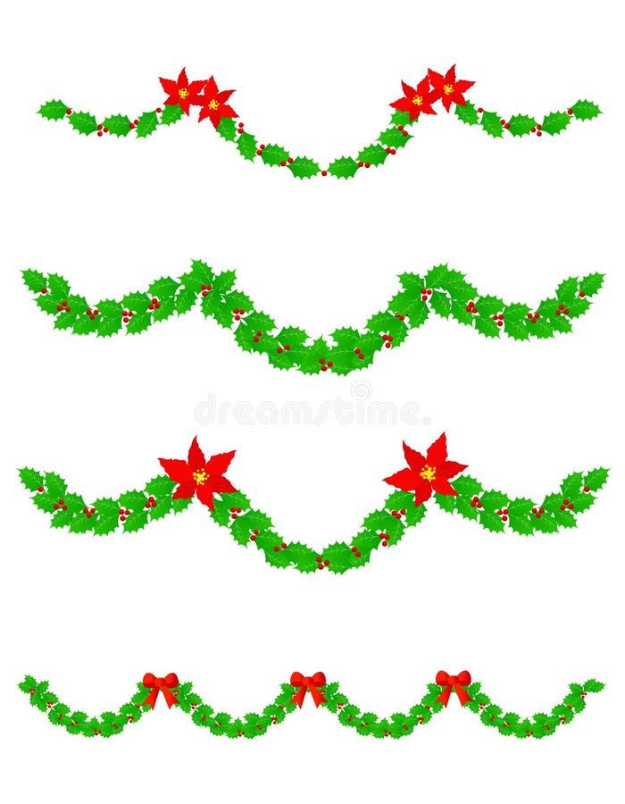 Divisores de la Navidad ilustración del vector