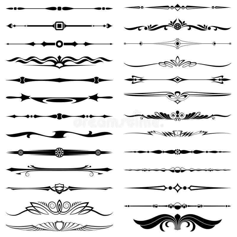 Divisores del texto libre illustration