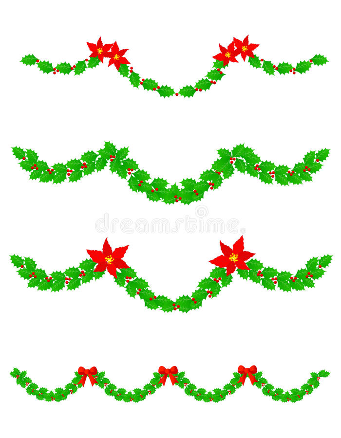Divisores do Natal ilustração do vetor