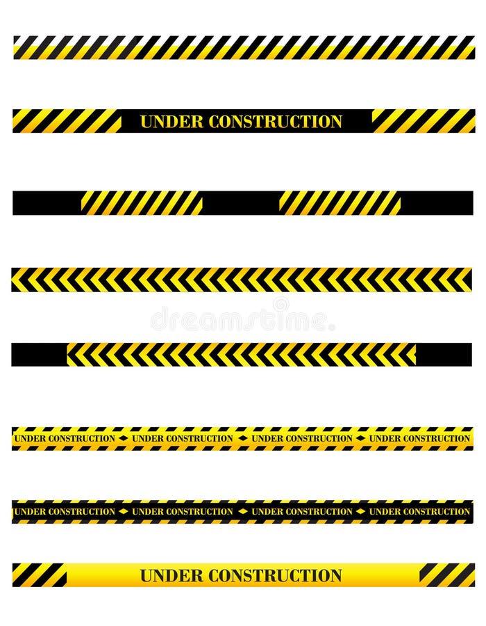 Divisori in costruzione royalty illustrazione gratis
