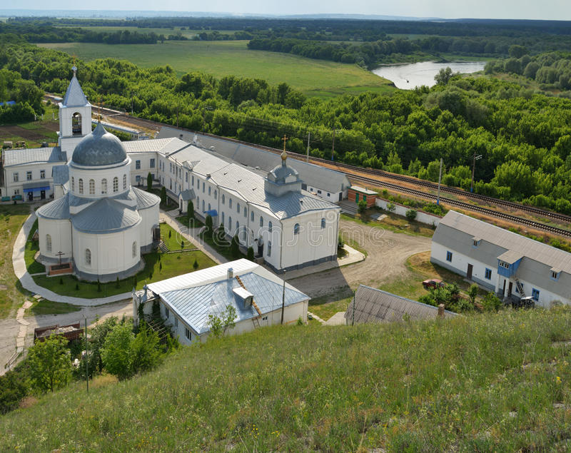 Divnogorsky monastery, Voronezh region, Russia stock images