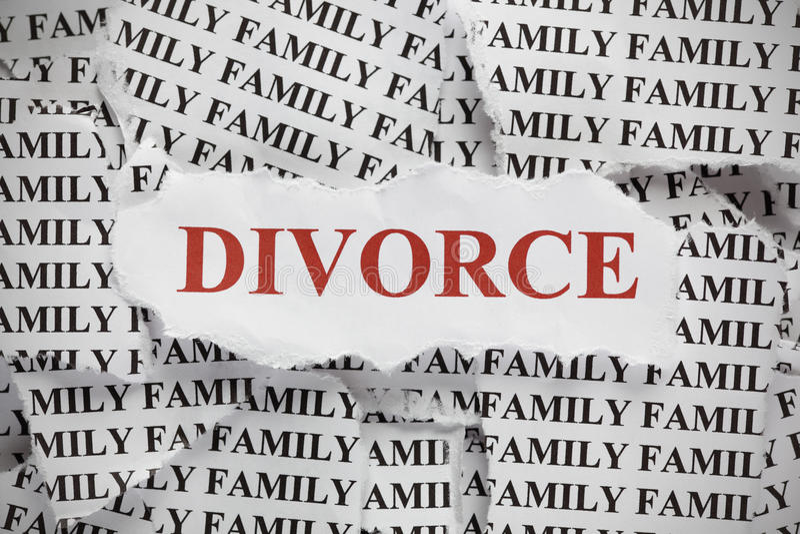 divorce image stock