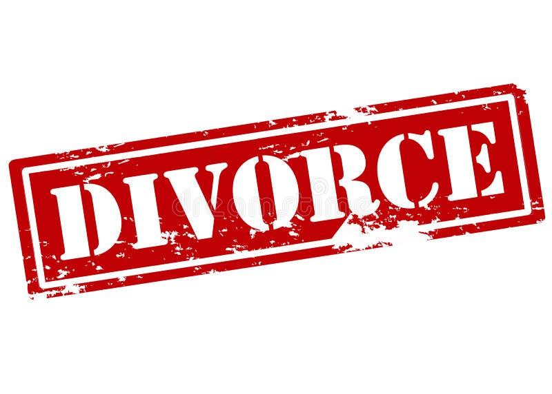 divorce illustration de vecteur