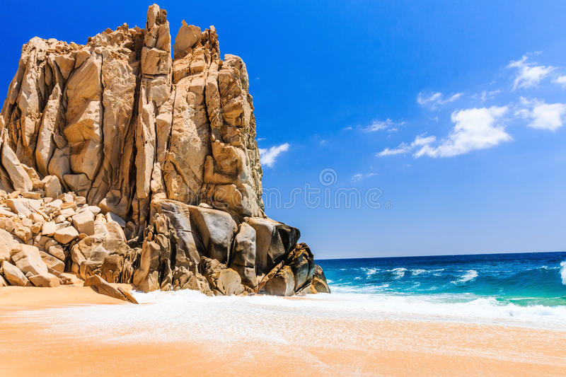 Divorce Beach in Cabo San Lucas, Mexico. Cabo San Lucas, Mexico. Divorce Beach near Cabo San Lucas, Mexico stock images