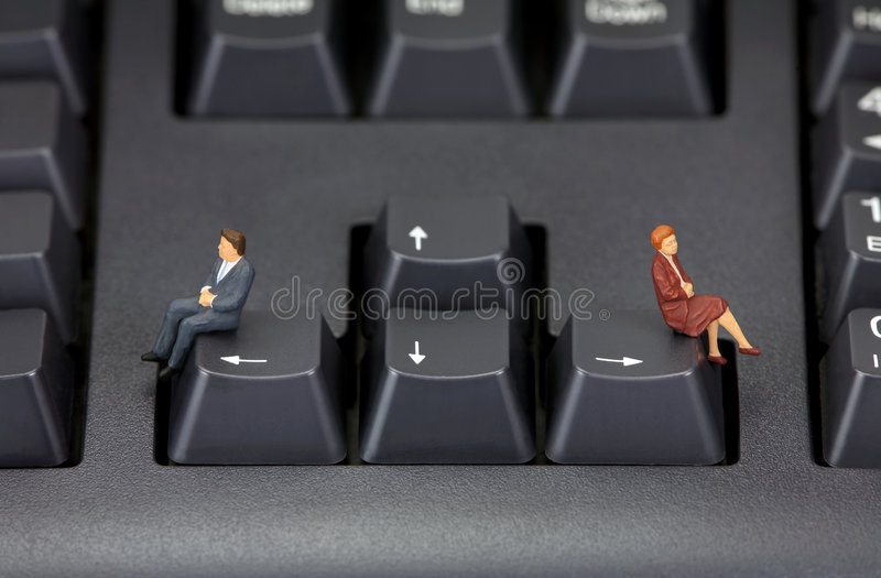 Divorce concept royalty free stock photography