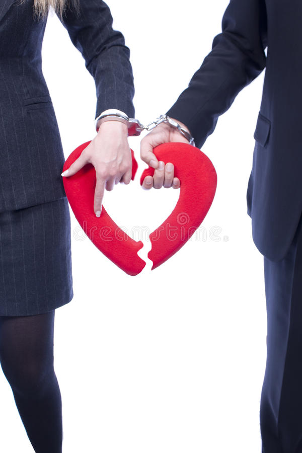 divorcement imagem de stock