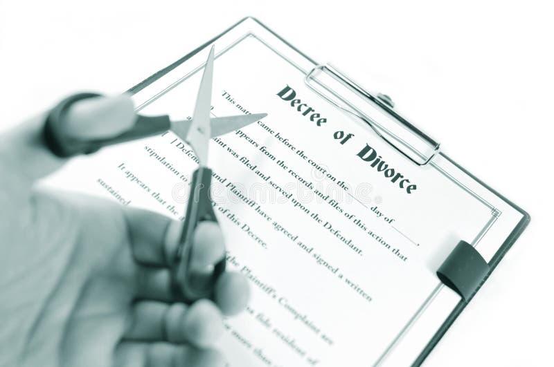 Divorcio foto de archivo