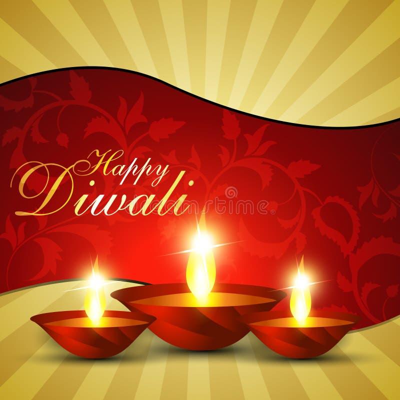 diwali节日 向量例证