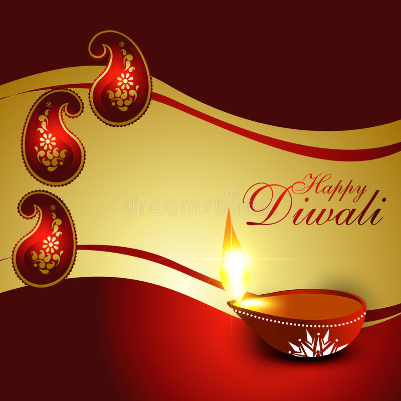 Diwali节日 库存例证