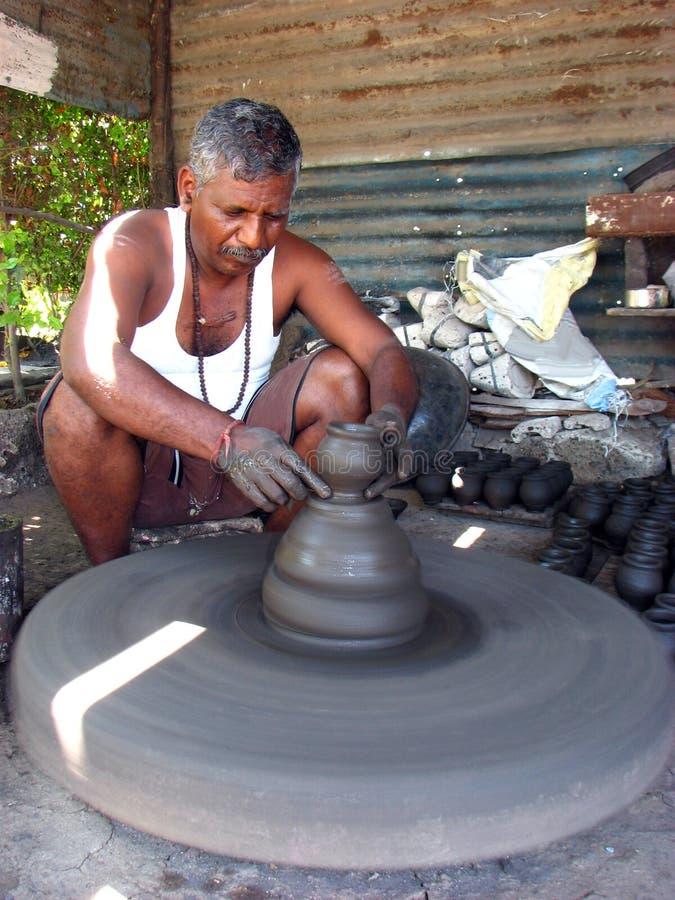 diwali陶瓷工 免版税图库摄影
