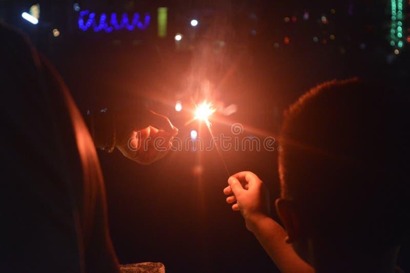 Diwali-φεστιβάλ των φω'των στοκ φωτογραφία με δικαίωμα ελεύθερης χρήσης