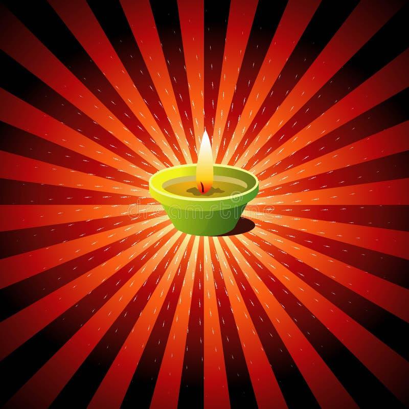 diwali предпосылки иллюстрация штока