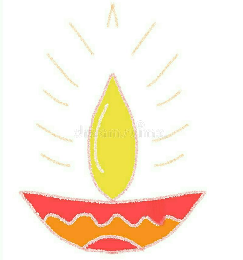 diwali stock de ilustración