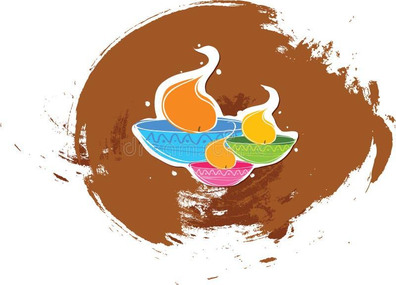 Diwali vector illustratie