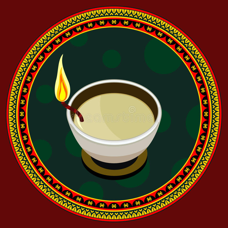 Diwali ilustração stock