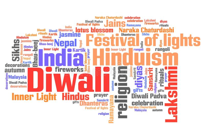 Diwali stock illustrationer