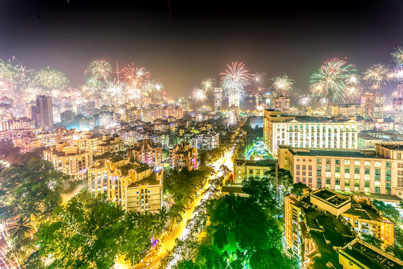 Diwali 2014 arkivbild
