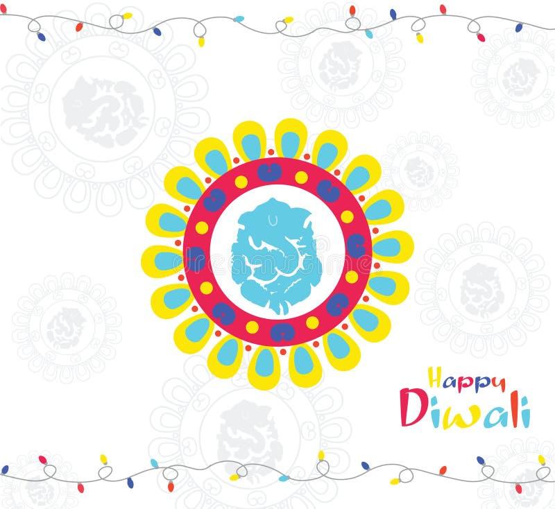 diwali διανυσματική απεικόνιση