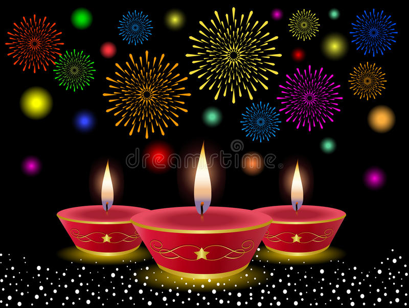 Diwali Background royalty free illustration