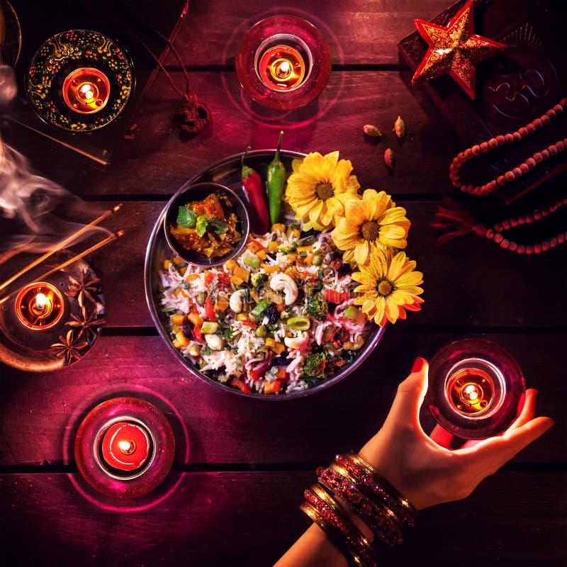 Diwali beröm royaltyfria foton