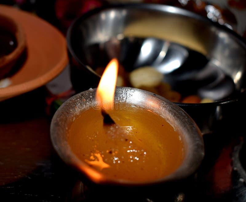 Diwali; Das Festival von Lichtern stockfotos
