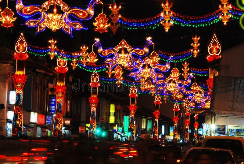 Diwali Deepavali festival royaltyfria foton