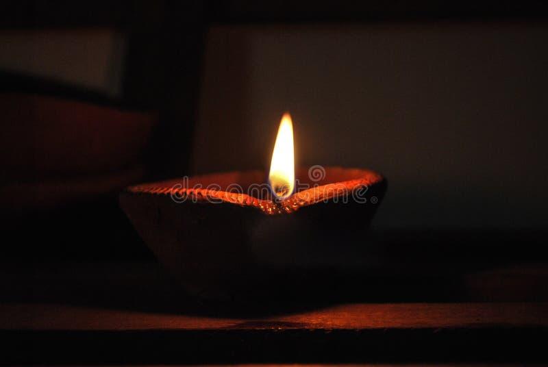 Diwali diya arkivfoto