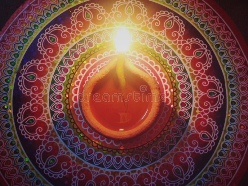 Diwali Diya and celebration. Religion, light stock photo