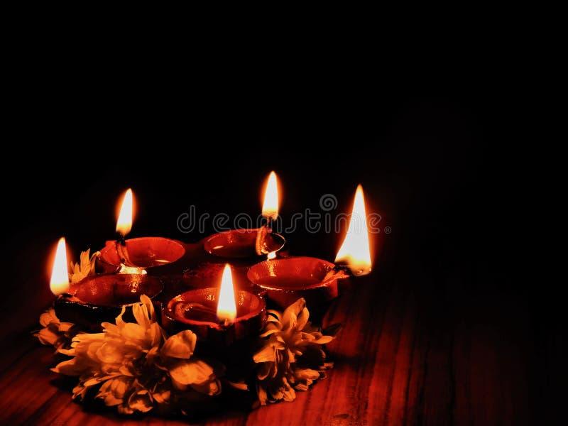 Diwali Diyas arkivfoton