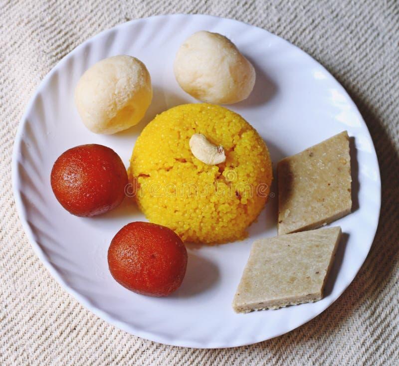 Diwali dusserah sweets snacks royalty free stock image