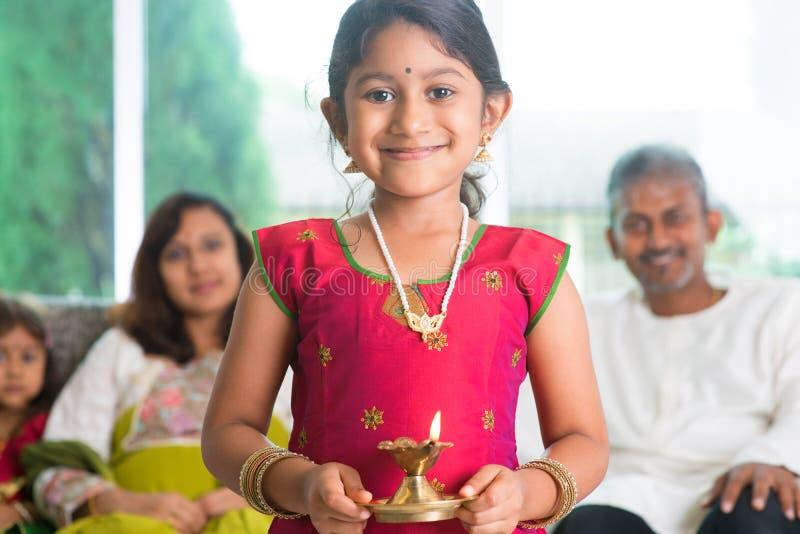 Diwali eller deepawali arkivfoto