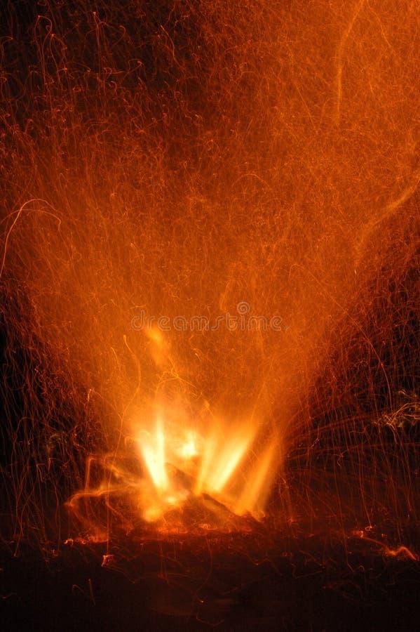 Diwali - ExplosionsTubri lizenzfreie stockfotografie