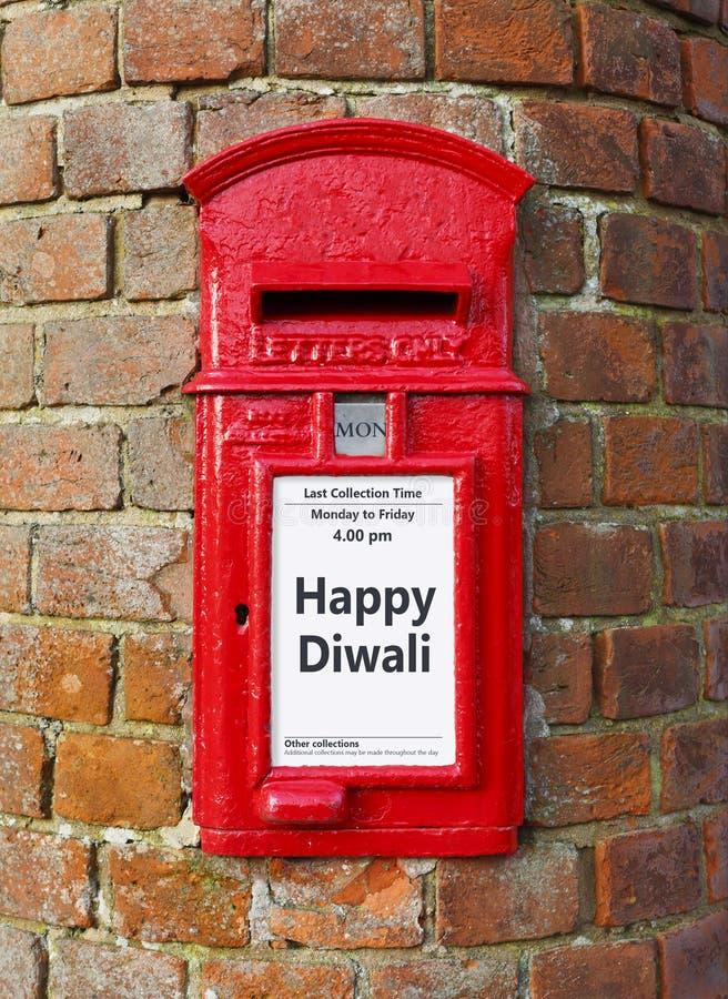 Diwali felice fotografia stock